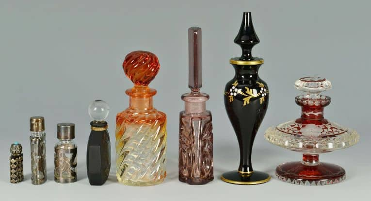 Learning About the Different Antique Perfume Bottles