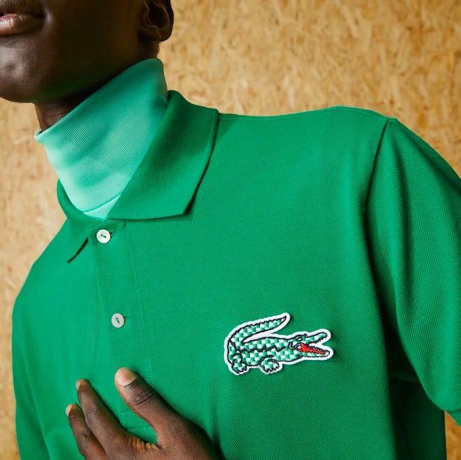 Men's Lacoste Fashion Show Edition Cotton Piqué Polo Shirt