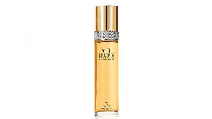 white diamonds perfume bottle