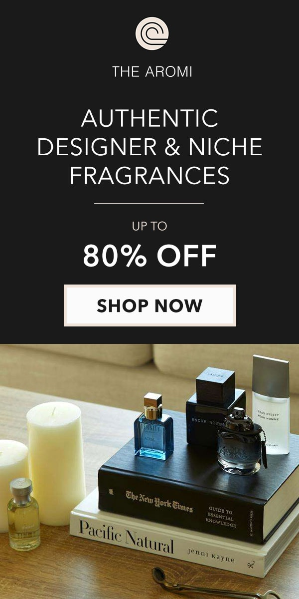 The Aromi Designer Perfumes and Colognes