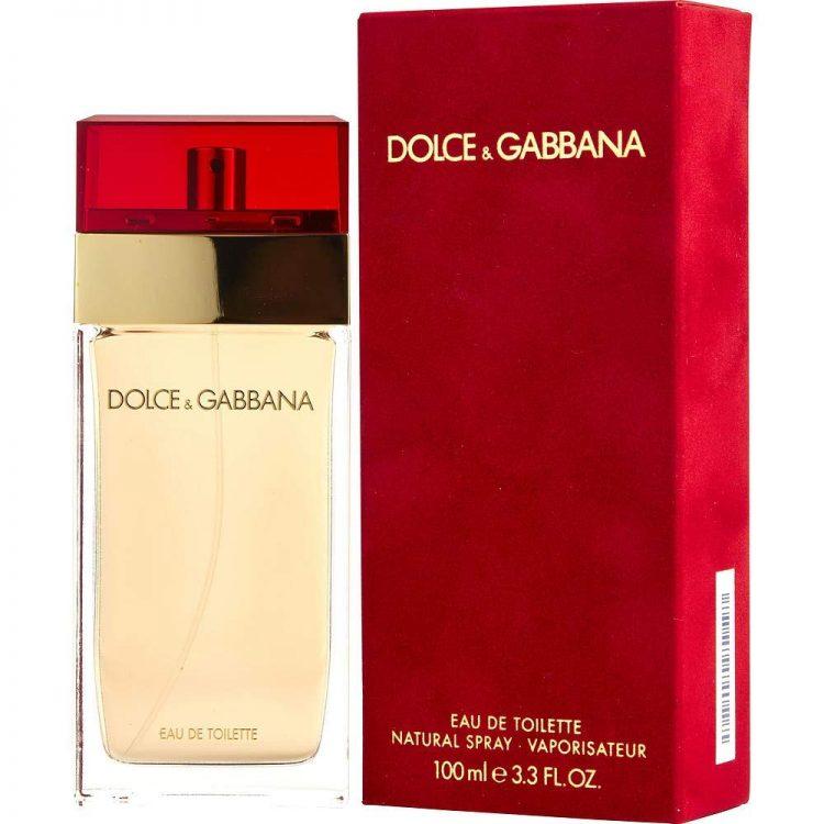 DOLCE & GABBANA Perfume EAU DE TOILETTE By DOLCE GABBANA For WOMEN, 3.3 fl.oz